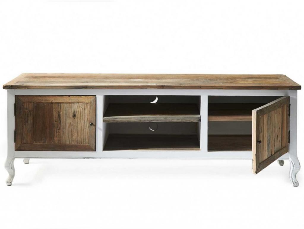 Tv Kast Driftwood Flatscreen Iepenhout 180 Cm Rivièra Maison